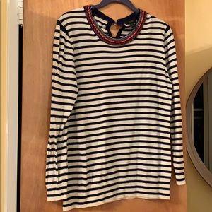 J. Crew Tippi Beaded Sweater